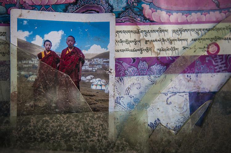 Dois jovens monges. Yushu – Qinghai