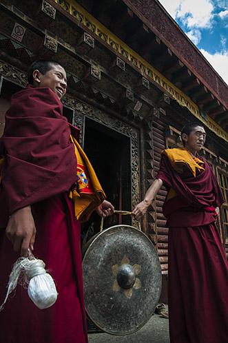 Monast̩rio budista. Yushu РQinghai