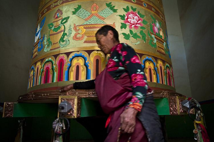 Roda de ora̵̤es. Yushu РQinghai